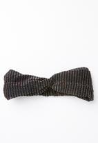 STYLE REPUBLIC - Shimmer headband - black