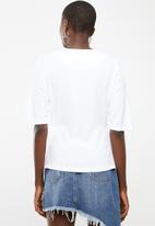 STYLE REPUBLIC - Wrap blouse - white