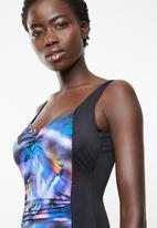 Jacqueline - Monaco underwire one piece - black