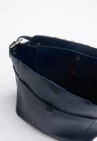 STYLE REPUBLIC - Frill detail mini tote bag - navy