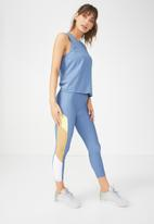 Cotton On - Backless twist tank top - blue