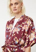 Superbalist - Soft kimono - maroon