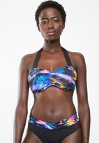 Jacqueline - Monaco boobtube bikini top - black
