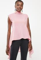 STYLE REPUBLIC - High neck kittybow blouse - pink