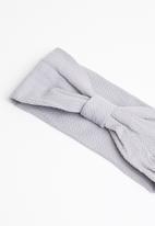 STYLE REPUBLIC - Knotted headband - grey