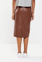 New Look - Pencil skirt - tan