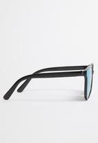 POP CANDY - Oversize reflective sunglasses - black