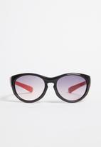 POP CANDY - Wayfarer colour block sunglasses - black