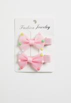 POP CANDY - Bow hairclips - pink