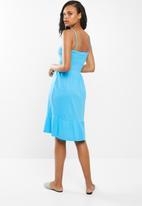 edit - Multi-wear strap dress - blue