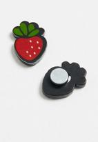 POP CANDY - Strawberry earrings - red