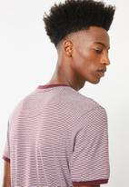 Brave Soul - Gandal T-shirt - burgundy