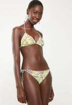 PIHA - Reversible string bikini bottom - yellow