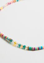 POP CANDY - Bead detailed necklace - multi
