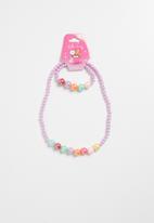 POP CANDY - Necklace and Bracelet Set - multi
