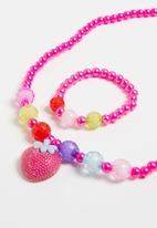 POP CANDY - Necklace and bracelet set - multi