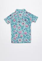 Rip Curl - Summerland short sleeve rashvest - multi