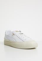 PUMA - Clyde rubber toe  - white