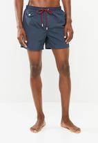 Brave Soul - Plain swimwear shorts - navy