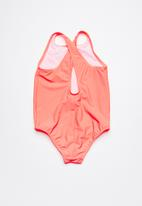 Rip Curl - Mini logo one piece swimsuit - coral