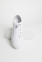 SOVIET - L simmons platform sneakers - white