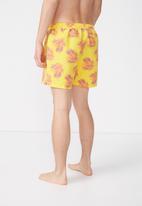 Cotton On - Swim short  - yellow