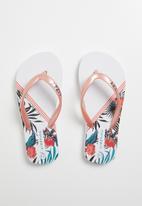 Lizzy - Lorraine flip flop - coral