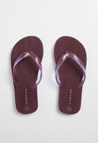Lizzy - llma flip flop - purple