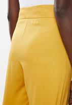 DAVID by David Tlale - Mmeli palazzo pants - yellow