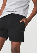 Cotton On - Worker short - black
