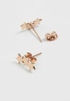 POP CANDY - Star earrings - rose gold