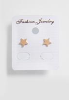 POP CANDY - Star earrings  - rose gold