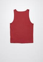 Lizzard - Salty printed vest - red