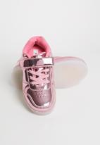 POP CANDY - Light up velcro strap sneaker - pink