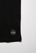 Lizzard - Dimitri printed tee - black