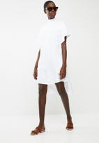 DAVID by David Tlale - Liberty shift dress - white