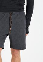 Cotton On - Coar tech track short - black