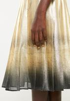 DAVID by David Tlale - Mathosa gold skirt - gold