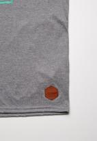 Lizzard - Hyatt printed vest - grey