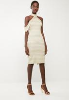 DAVID by David Tlale - The zenani dress - gold