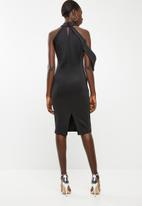 DAVID by David Tlale - The zenani dress - black