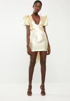 DAVID by David Tlale - Disco dress - gold
