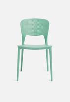 Sixth Floor - Dot chair - aqua