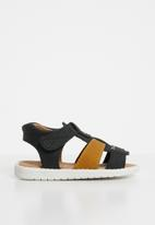 Rock & Co. - Fred sandal - black