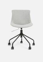 Basics - Rae office chair – light grey