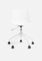 Basics - Rae office chair – white