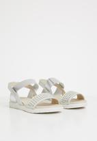 Rock & Co. - Monroe sandals - silver
