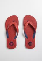 World Tribe - Ultimate boys youth flip flop - Red