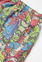 Lizzard - Monster mania board shorts - multi