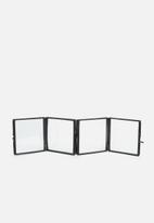 Sixth Floor - Josie photo frame - black